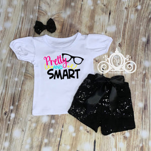 Pretty & Smart Girls School Shirt