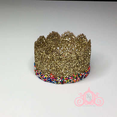 Glitter & Sprinkles Ice Cream Birthday Crown