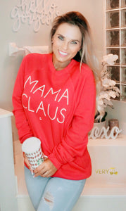 Mama Claus Graphic Sweatshirt