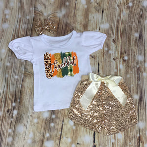 Thankful Swash Girls Tee