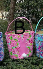 Floral Easter Baskets w Monogram