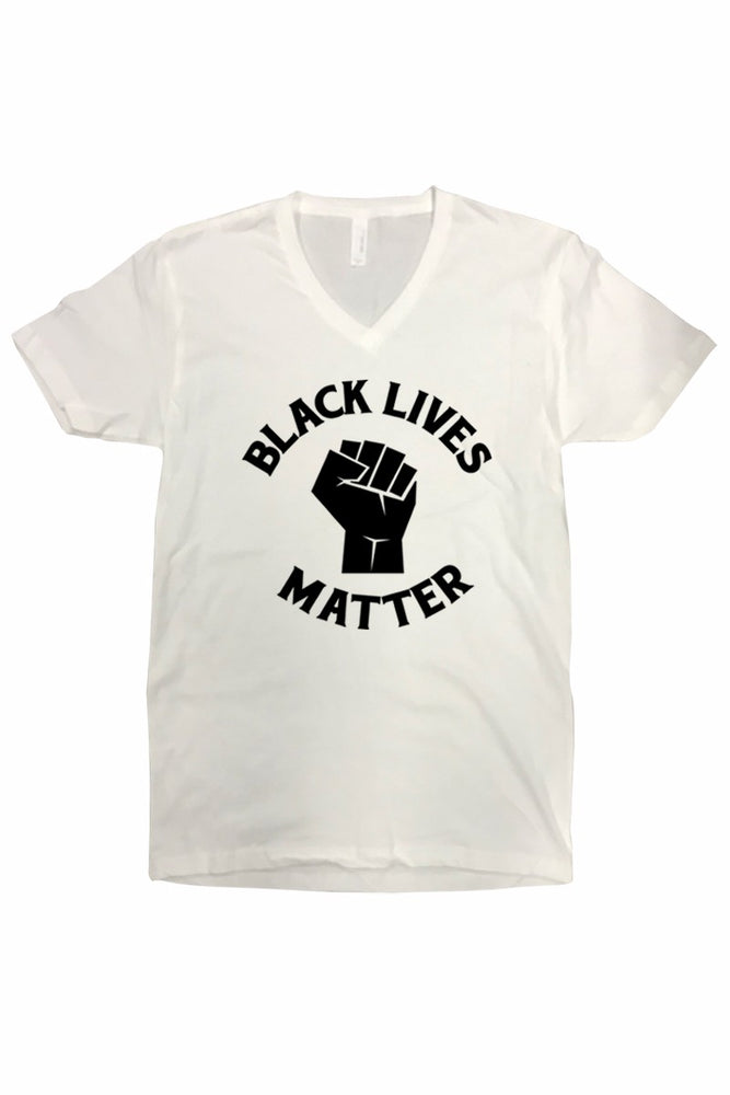 BLM V LMTee in White