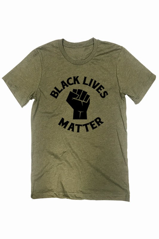 BLM Tee in Green