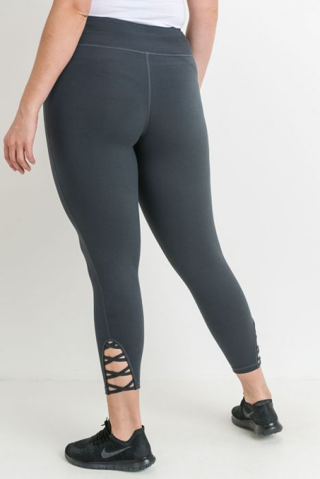 Lattice Strap Plus Leggings