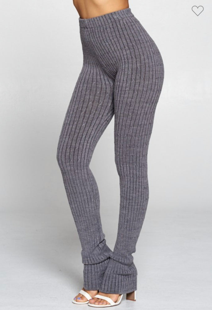 Split Legging in Grey