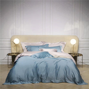 Lucilla Reversible Egyptian Cotton Duvet Cover Set