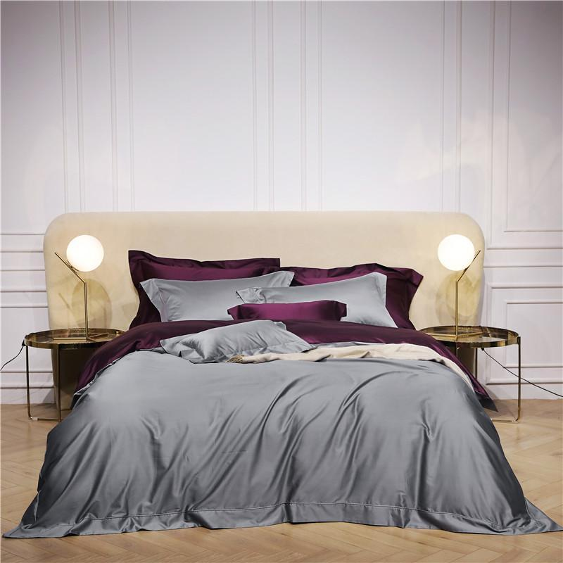 Constantine Reversible Egyptian Cotton Duvet Cover Set