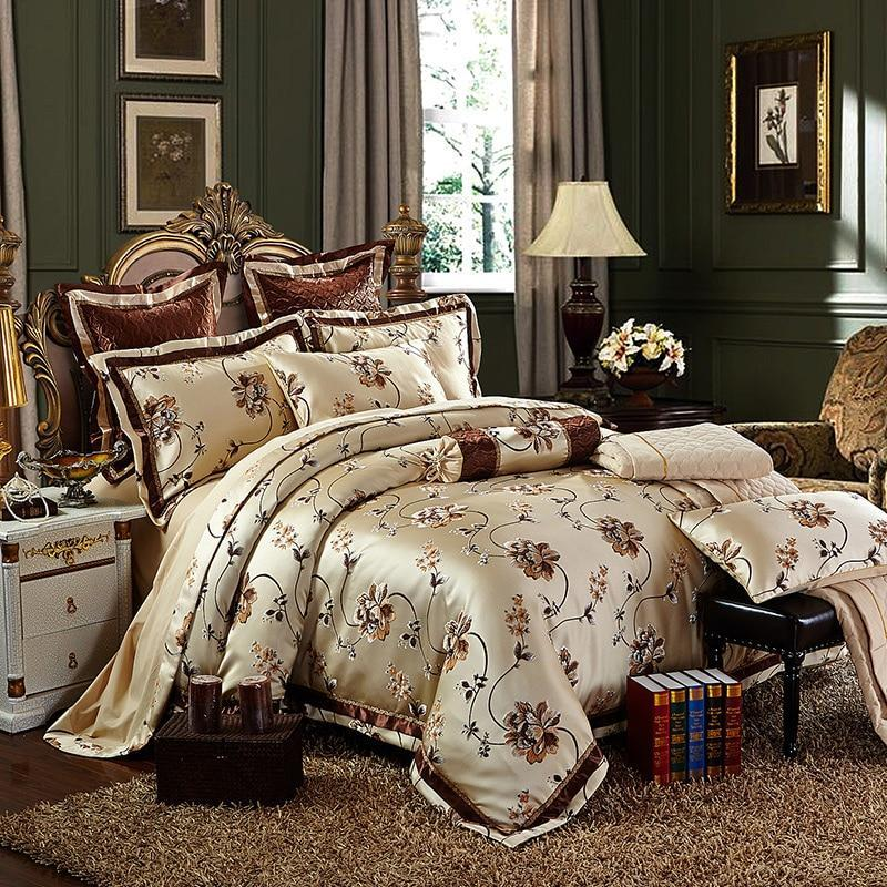 Valentina Silk Cotton Jacquard Duvet Cover Set