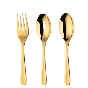 Laboni Serving Spoon & Fork Set (25cm+)