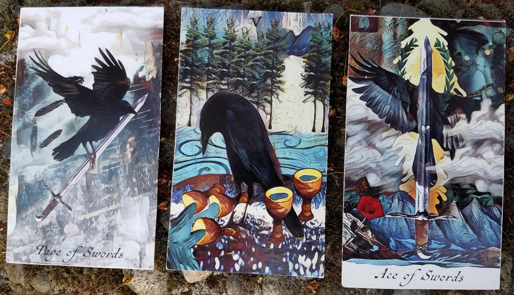 General Three Card Crow Tarot Reading - Thursday April 26th