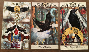 General Three Card Crow Tarot Reading - Friday June 1st
