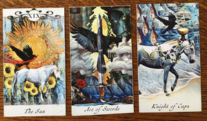 General Three Card Crow Tarot Reading - Saturday June 2nd