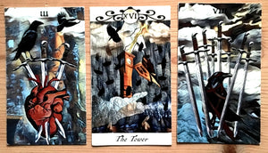 General Three Card Crow Tarot Reading - June 10th