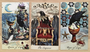 General Three Card Crow Tarot Reading - Monday June 11