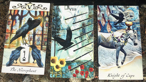General Three Card Crow Tarot Reading- Tuesday June 19th