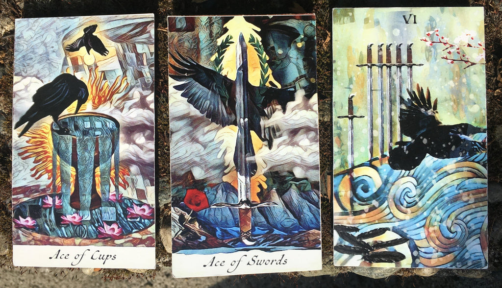 General Three Card Crow Tarot Reading - Wednesday June 20