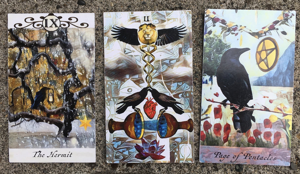 General Three Card Crow Tarot Reading - Thursday June 21st