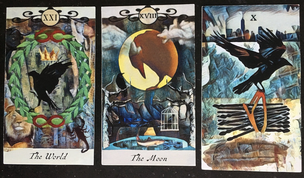 General Three Card Crow Tarot Reading - Tuesday July 3rd