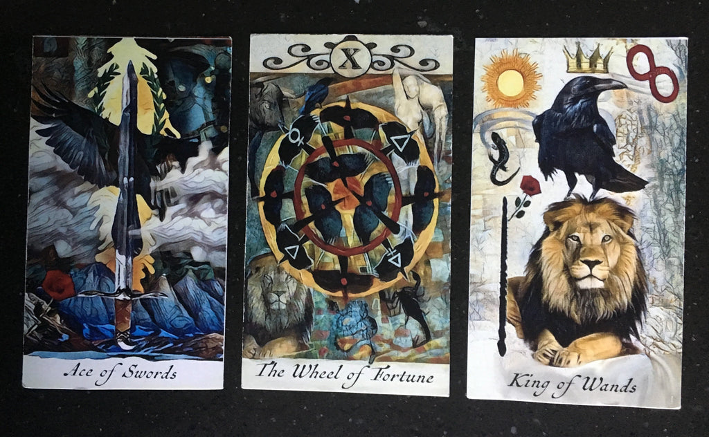 General Three Card Crow Tarot Reading - Wednesday July 4th