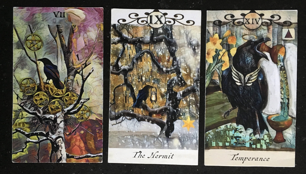 General Three Card Crow Tarot Reading - Thursday July 5th