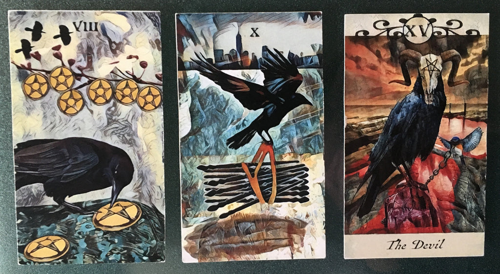 General Three Card Crow Tarot Reading - Friday July 6th
