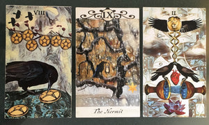 General Three Card Crow Tarot Reading - Sunday July 8th