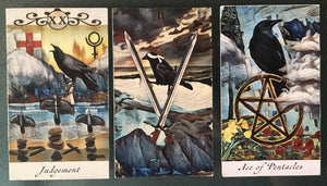 General Three Card Crow Tarot Reading - Monday July 9th