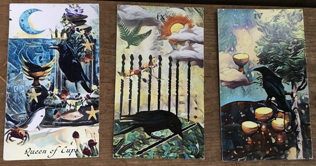 General Three Card Crow Tarot Reading - Saturday July 28th