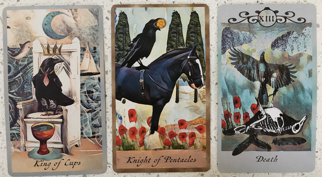 General Three Card Crow Tarot Reading - Thursday September 6th