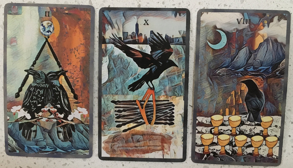 General Three Card Crow Tarot Reading - Friday September 7th