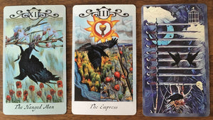 General Three Card Crow Tarot Reading - Saturday September 8th