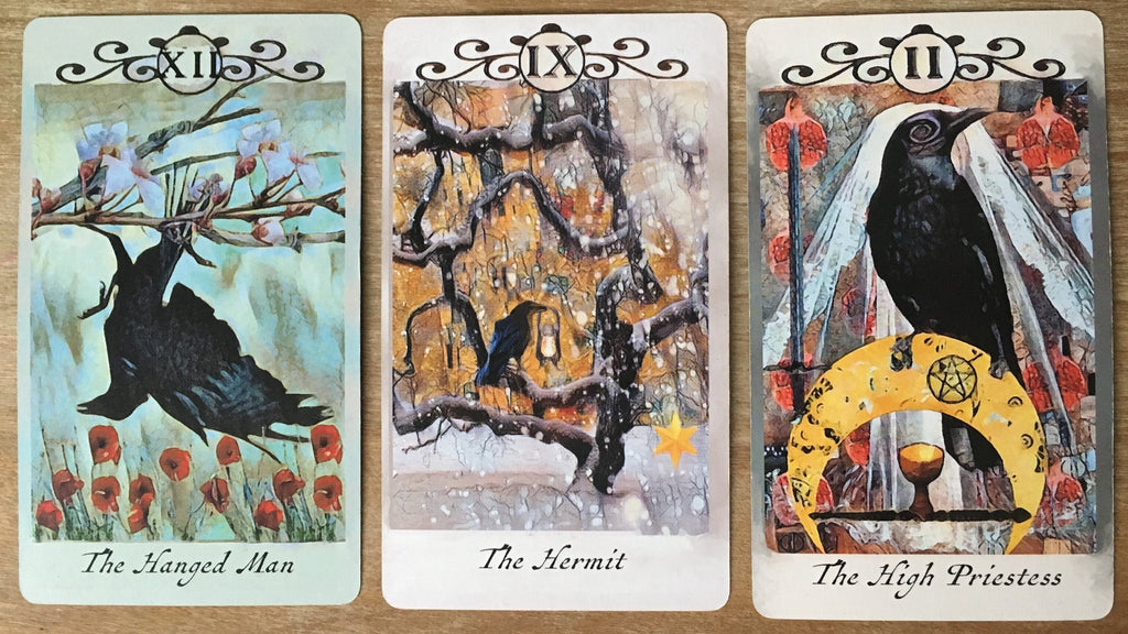 General Three Card Crow Tarot Reading - Friday September 14th