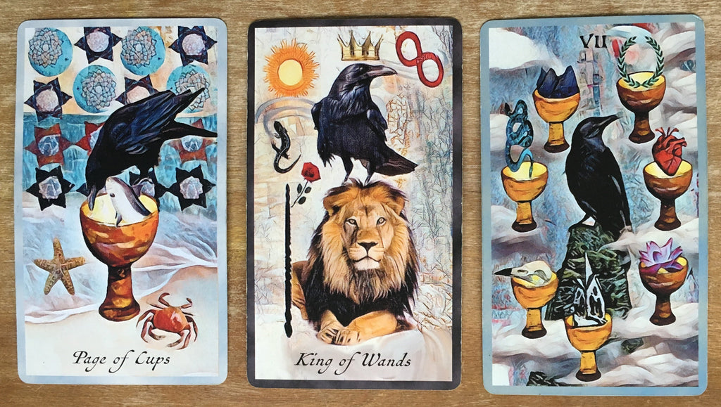 General Three Card Crow Tarot Reading - Monday October 22nd