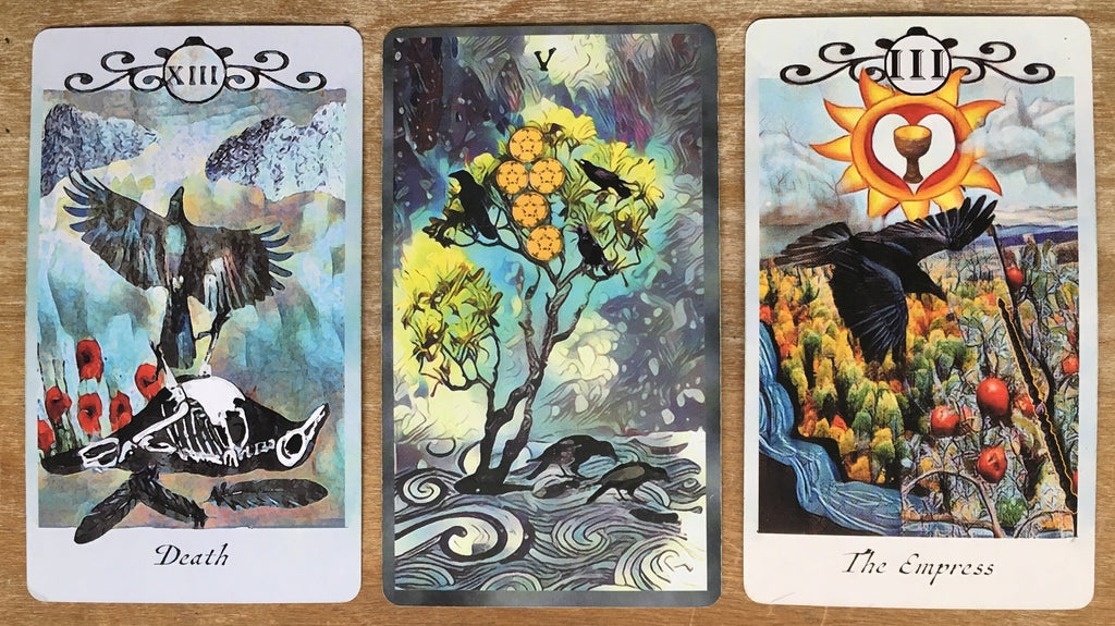 General Three Card Crow Tarot Reading - Tuesday October 23