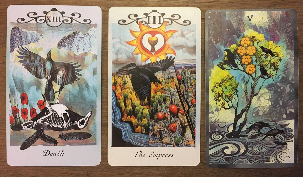 General Three Card Crow Tarot Reading - Saturday November 2nd