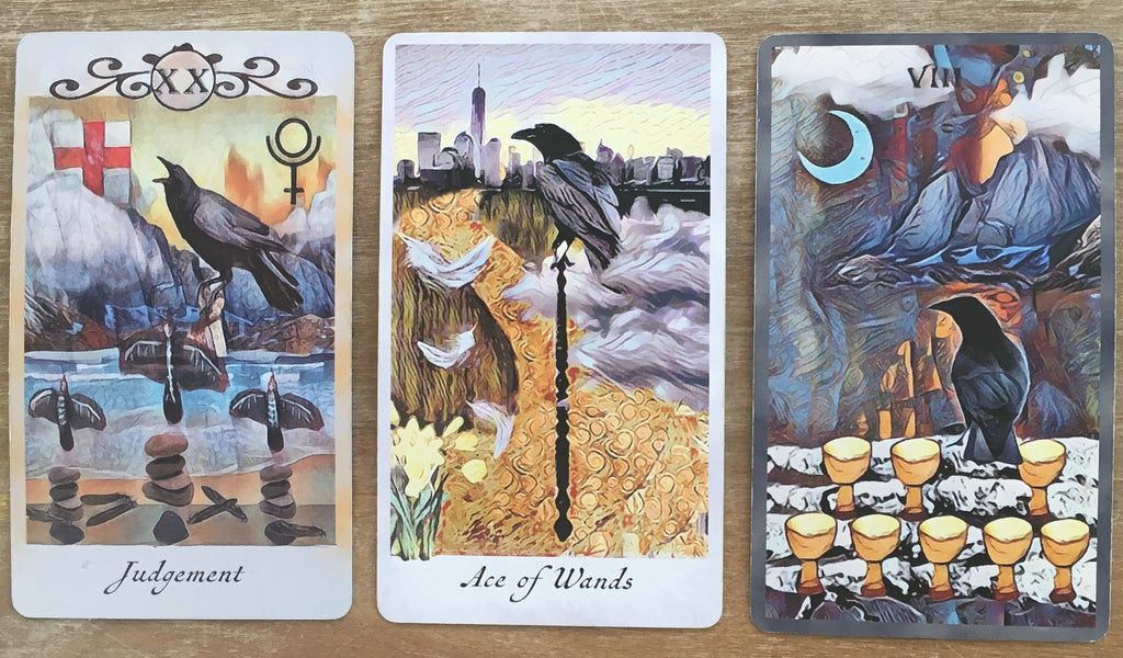 General Three Card Crow Tarot Reading - Sunday November 11th