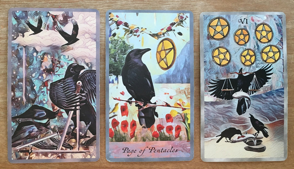 General Three Card Crow Tarot Reading - Monday November 12th