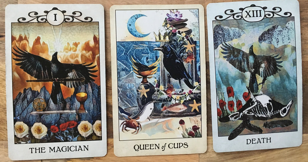 General Three Card Crow Tarot Reading - Tuesday December 11th