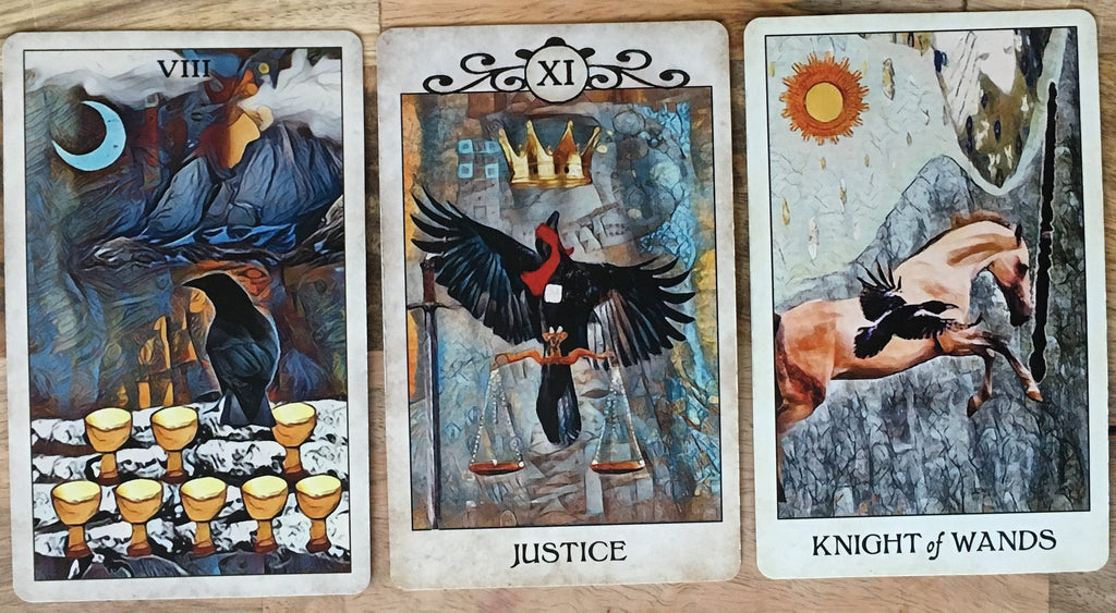General Three Card Crow Tarot Reading - Friday December 14th