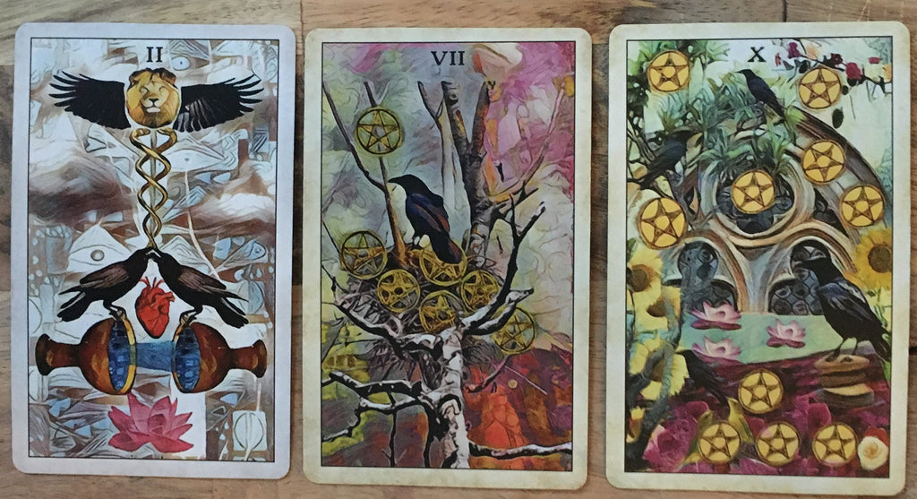 General Three Card Crow Tarot Reading - December 15th