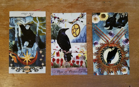 3 card crow tarot spread