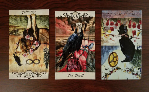 3 Card Crow Tarot Spread Jan 12th