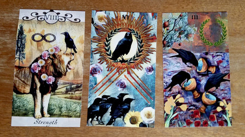 crow spread crow tarot