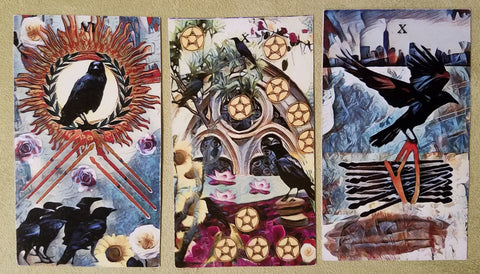 Crow Tarot spread