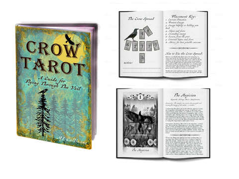 Crow Tarot Guide book!