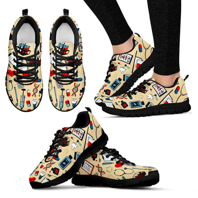 Doctor Pattern Sneakers