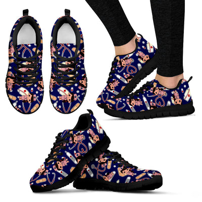 Nurse Navy Women Sneakers