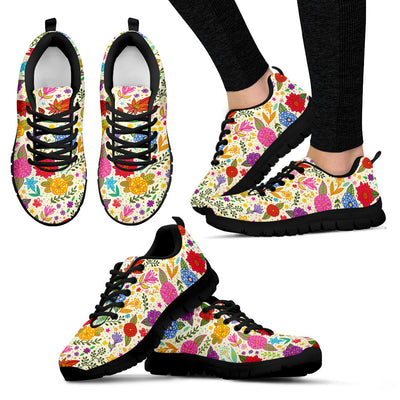 Bright Floral Sneakers