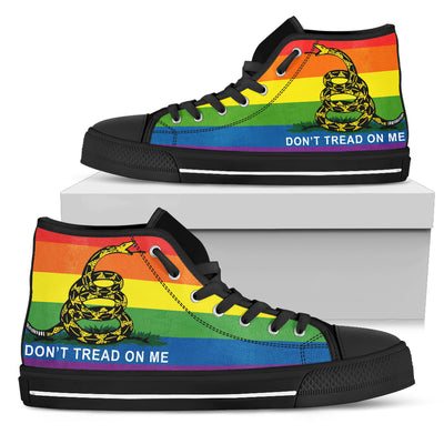 Don't Tread on Me High-Top Shoes