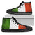 Italy Flag High-Top Shoes